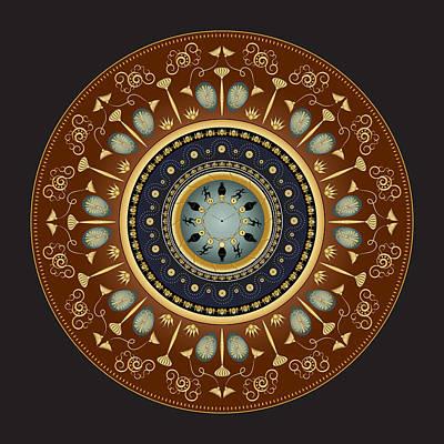 Digital Art - Circularium No 2744 by Alan Bennington