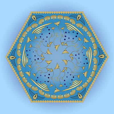 Digital Art - Circularium No 2750 by Alan Bennington