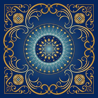 Digital Art - Circularium No 2751 by Alan Bennington