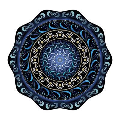 Digital Art - Circularium No. 2720 by Alan Bennington