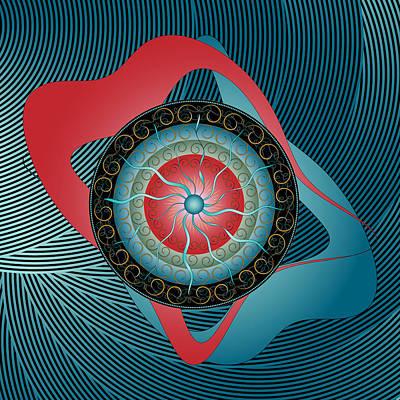 Digital Art - Circulosity No 2996 by Alan Bennington