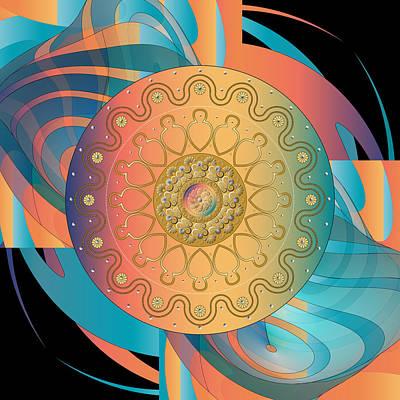 Digital Art - Circulosity No 3131 by Alan Bennington