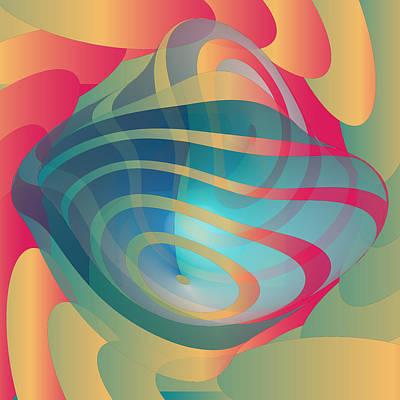 Digital Art - Circulosity No 3139 by Alan Bennington