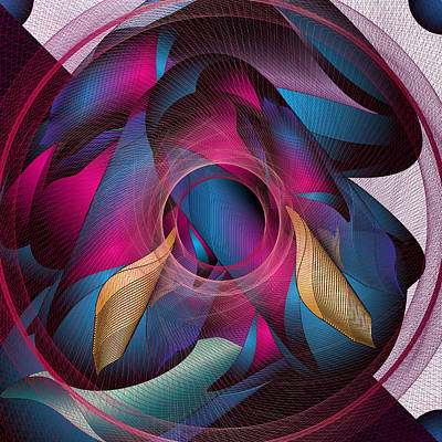 Digital Art - Circulosity No 3271 by Alan Bennington