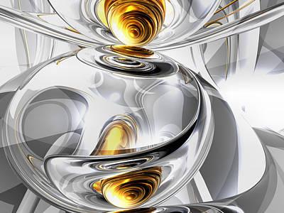 Cgi Digital Art - Circumvoluted Abstract by Alexander Butler