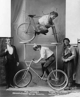 Photograph - Circus Act, C1907.  by Granger