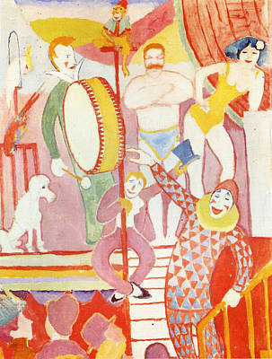 Painting - Circus by August Macke