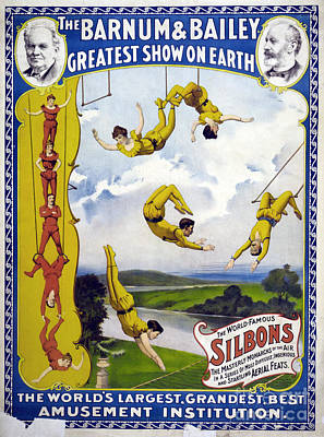 Drawing - Circus, Barnum And Bailey.  by Granger