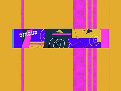Digital Art - Circus Buddies 3 by Janis Kirstein