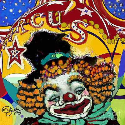 Digital Art - Circus by Carol Jacobs