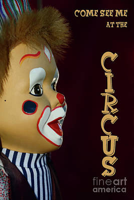 Photograph - Circus Clown By Kaye Menner by Kaye Menner