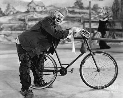 Photograph - Circus: Clown, C1920 by Granger