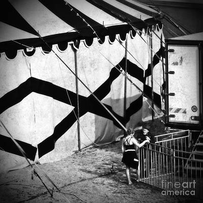 Photograph - Circus Conversation by Silvia Ganora