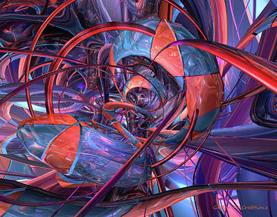 Bookmarks Digital Art - Circus F-x  by G Adam Orosco