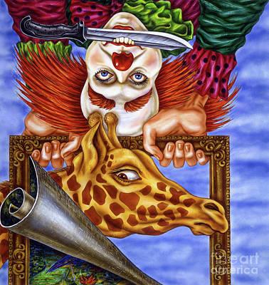 Circus In The Museum Art Print