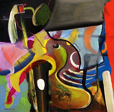 Painting - Circus Juice  by Antonio Ortiz