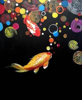 Painting - Circus by Jun Jamosmos