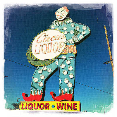 Circus Liquor Art Print by Nina Prommer