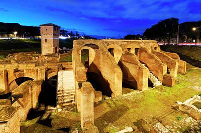 Photograph - Circus Maximus by Fabrizio Troiani