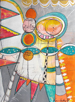 Painting - Circus One by Karin Husty