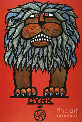 Poland Painting - Circus Poster 1967 by Granger