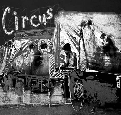 Photograph - Circus Side Show by Jim Vance
