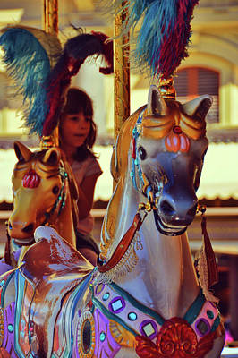 Photograph - Circus Steed by JAMART Photography