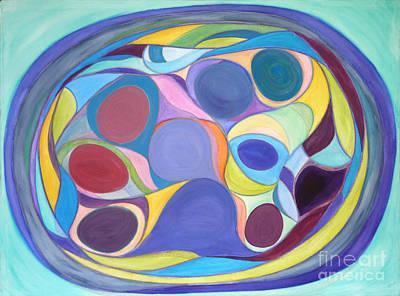 Fusion Drawing - Circus Three by Elena Fattakova