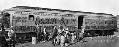 Photograph - Circus Train by Granger