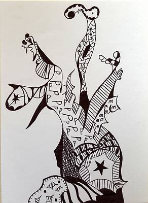 Drawing - Circus5 by Steven Stutz