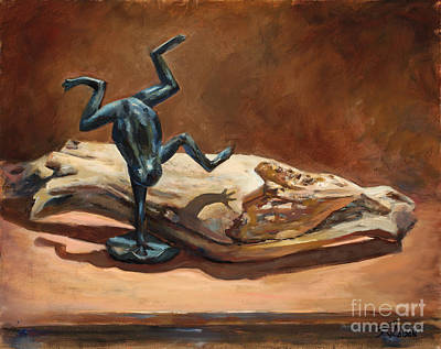 Painting - Cirque De Frog by Billie Colson