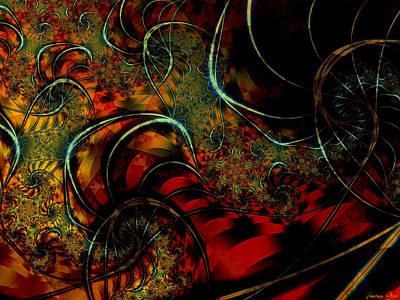 Different Worlds Digital Art - Cirque by Lauren Goia