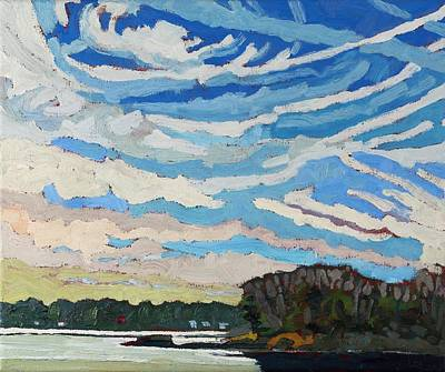 Severe Painting - Cirrious Skies by Phil Chadwick