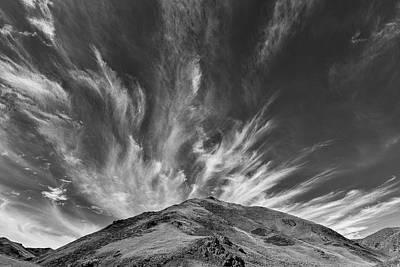 Photograph - Cirrus Clouds by Hitendra SINKAR