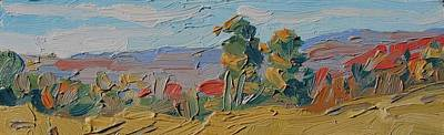 Painting - Cirrus Horizon by Phil Chadwick