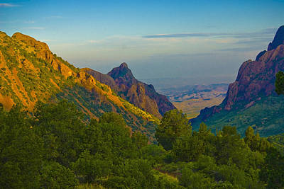 Chiscos Mountain Park Art Print