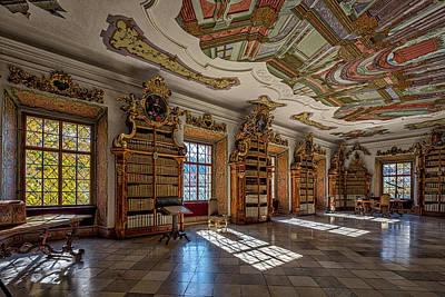 Photograph - Cistercian Monastery Library - Czech Republic by Stuart Litoff