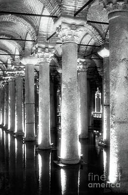Sultanhmet Photograph - Cistern Columns by John Rizzuto