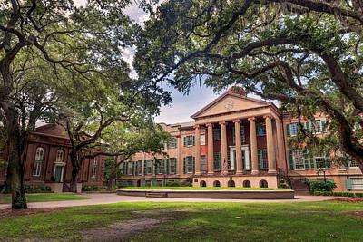 College Of Charleston Photograph - Cistern by Drew Castelhano