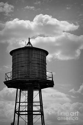 Photograph - Cistern In Black And White by Nadalyn Larsen