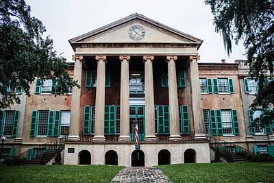 College Of Charleston Photograph - Cistern Yard by Nickie Cutrona