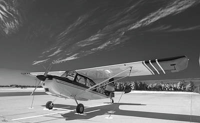 Photograph - Citabria On The Ramp by Philip Rispin