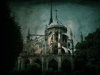 Notre Dame Digital Art - Citadel by Andrew Paranavitana