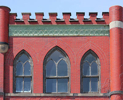 Photograph - Citadel Building Port Huron by Mary Bedy