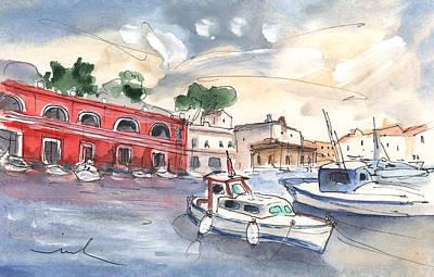 Painting - Citadel Of Minorca 03 by Miki De Goodaboom
