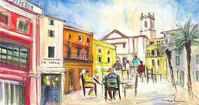 Painting - Citadel Of Minorca 06 by Miki De Goodaboom