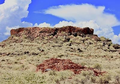 Photograph - Citadel Pueblo Flagstaff by Lorna Maza