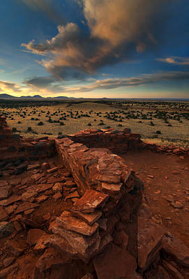 Pueblo Photograph - Citadel Walls by Mike  Dawson