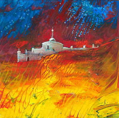 Painting - Citadelle Andalouse by Miki De Goodaboom