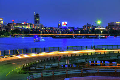 Photograph - Citgo Sign Across The Charles River - Boston by Joann Vitali